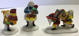 Dept 56 North Pole Series TOYMAKER ELVES Set 3 Figurines #56022 Retired ... - $14.94