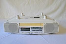 Sony ICF-CD513 Under Cabinet CD Player AM/FM Radio Alarm Clock Mega Bass - $49.99