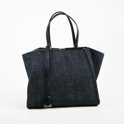968f796fd652 Fendi Blue Jean Denim
