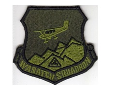 US Civil Air Patrol CAP Utah Wasatch Senior Squadron Black Widows USAF AUX acu 3 - $9.99