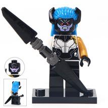 Unbranded Proxima Midnight Minifigure Marvel Supervillain Comics Fits Lego - $3.49