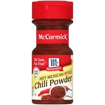 (2 Pack) McCormick Hot Mexican Chili Powder, 2.5 oz - $1.21