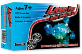 NEW! Light Up Building Construction Set- Laser Pegs Mini Monster Bug 36 ... - $15.83