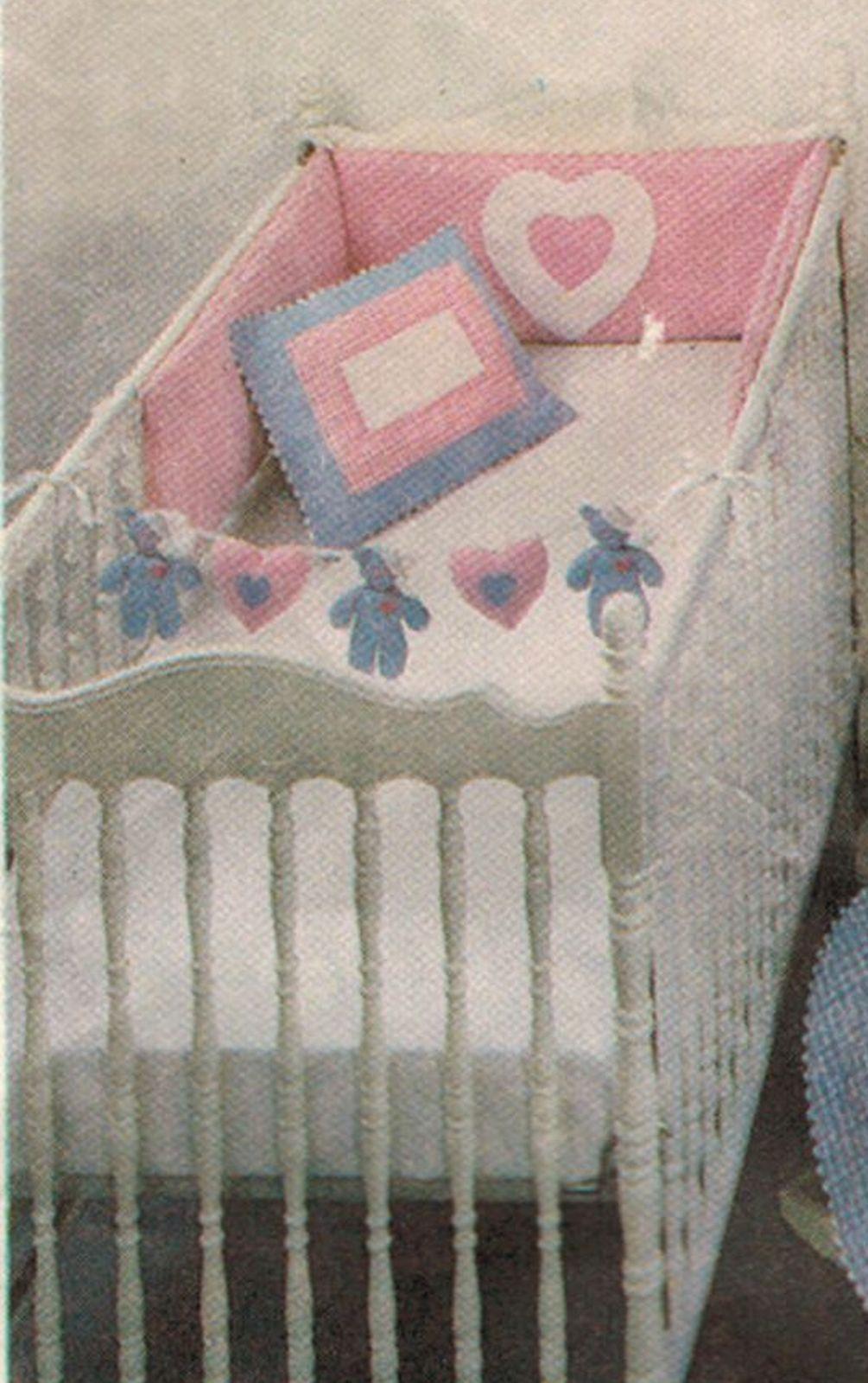 Baby Nursery Crib Teddy Bear Quilt Pillow and 16 similar items