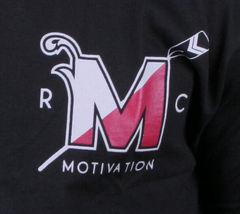 Motivation Ann Arbor Mens Black University Rowing Club T-Shirt USA Made NWT image 4