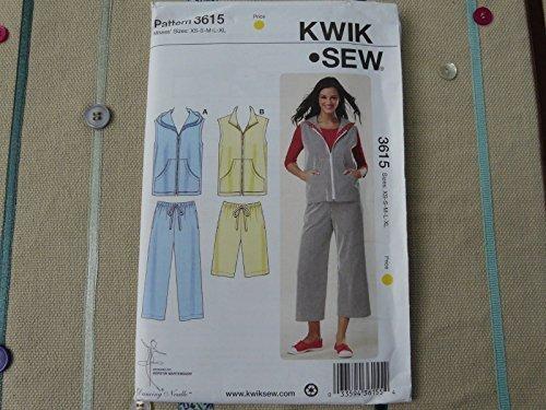 Pants and Romper Kwik Sew K3811 Jacket Sewing Pattern