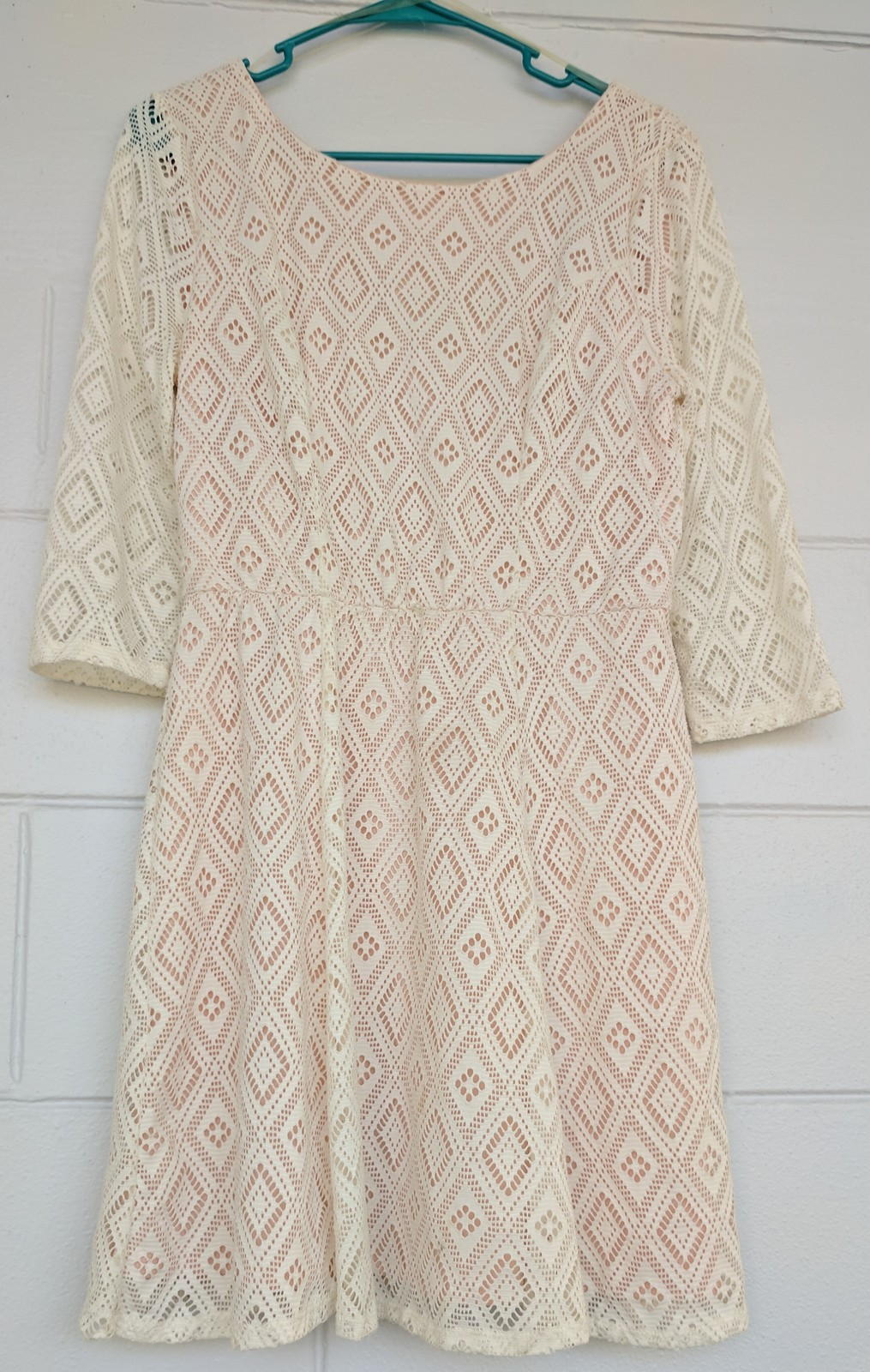 920ebd31f57ba2 Pretty Lace Dress - Lily Rose brand Size L and 16 similar items. Img  20170927 114741 1