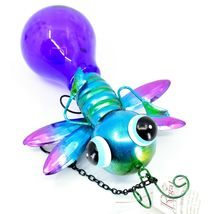 Regal Art & Gift Metal & Glass Firefly Hanging Solar Light Garden Decor image 6