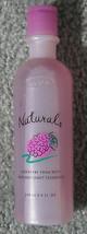 Bath Body Natural Raspberry Foam Bath 8.4 Oz Bottle Great For Relaxing Nla New - $17.77