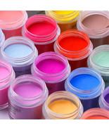 Matte Color Manicure Powder Nail Dipping Powder Nail Art Decorations 04 - $6.42