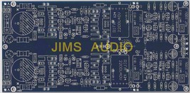 Low-noise shunt regulator plus fully complementary JFET preamp stereo PCB ! - $14.89