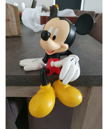 Extremely Rare! Walt Disney Mickey Mouse Classic Sitting Figurine Statue - $495.00