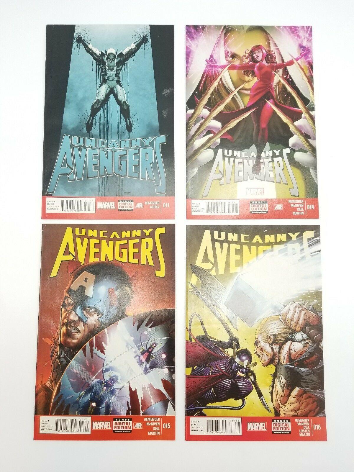 Uncanny Avengers 1-11 14-16 w/ Skottie Young Baby Variant Vol 1 2012 Comic Books image 8