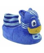 PJ MASKS CATBOY Boys Plush Comfy Sock-Top House Slippers Toddler's Size ... - $13.99