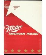 Bobby Allison #22 Miller American Chevrolet Media Kit Nascar 1986 - $30.56
