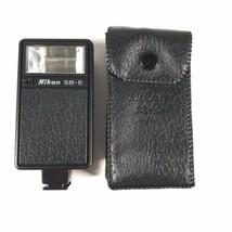 Nikon Speedlight SB-E Flash W/ Case For Nikon EM FE FM Excellent Condition - $18.52