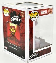 Funko Pop! Marvel Absolute Carnage PX Exclusive Deluxe Bobble Head Figure #673 image 4
