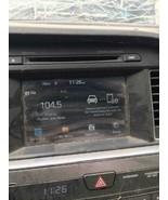 "15-16 HYUNDAI SONATA RADIO 96160-C20004X RECEIVER TESTED OEM 5"" - $116.10"