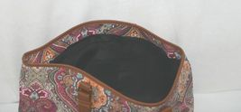 Howards Product Number 68985 Large Shoulder Bag Multi Color Paisley image 6