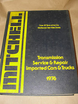 MITCHELL 1976 TRANSMISSION SERVICE & REPAIR IMPORTED CARS & TRUCKS - $14.99