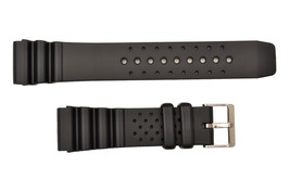 22mm Divers Watch Band Plastic FOR Citizen  or any 22mm heavy watch strap - $13.95