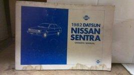 1982 Datsun Nissan Sentra Owners Manual [Paperback] [Jan 01, 1982] Nissa... - $9.89