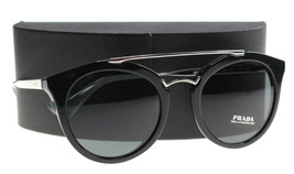 New Prada Sunglasses Womens SPR 23S Black 1AB-1... - $198.99