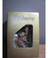 SKI COUNTRY WALL HANGING (PLAQUE)  SQUIRRELS  MINI SIZE DECANTER FOSS CO - $40.00