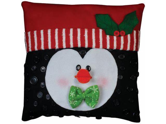 Design Works Christmas Penguin Felt Pillow Kit #5192