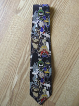 1993 Warner Bros. Looney Tunes Neck Tie 100% Silk - $9.89