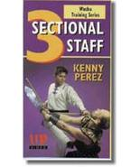 Wushu Training 3 Sectional Staff DVD Kenny Perez Northern Style Kung Fu ... - $22.00