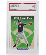 Derek Jeter 1993 Topps #98 New York Yankees Baseball Card PSA MT 9 - $145.49