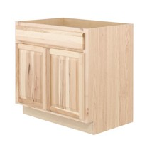 Hampton Bay Kitchen Cabinet 36 in. x 34.5 in. x 24 in. Natural Hickory - $319.20