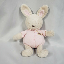 Carters Pink Tan/Beige Stuffed Plush Bunny Rabbit Rattle Pacifier # 4463... - $128.69