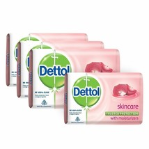 Dettol Skin Care Soap - Pack of 75 gm X 8 pack with free shipp to word wide - $22.94