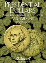 Presidential Dollar Coin Folder Album Vol 1, 2007-2011 P&D by H.E. Harris - $5.75