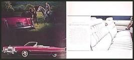 1974 Cadillac Dlx. Brochure Eldorado Fleetwood Brougham Sedan Coupe de V... - $9.29
