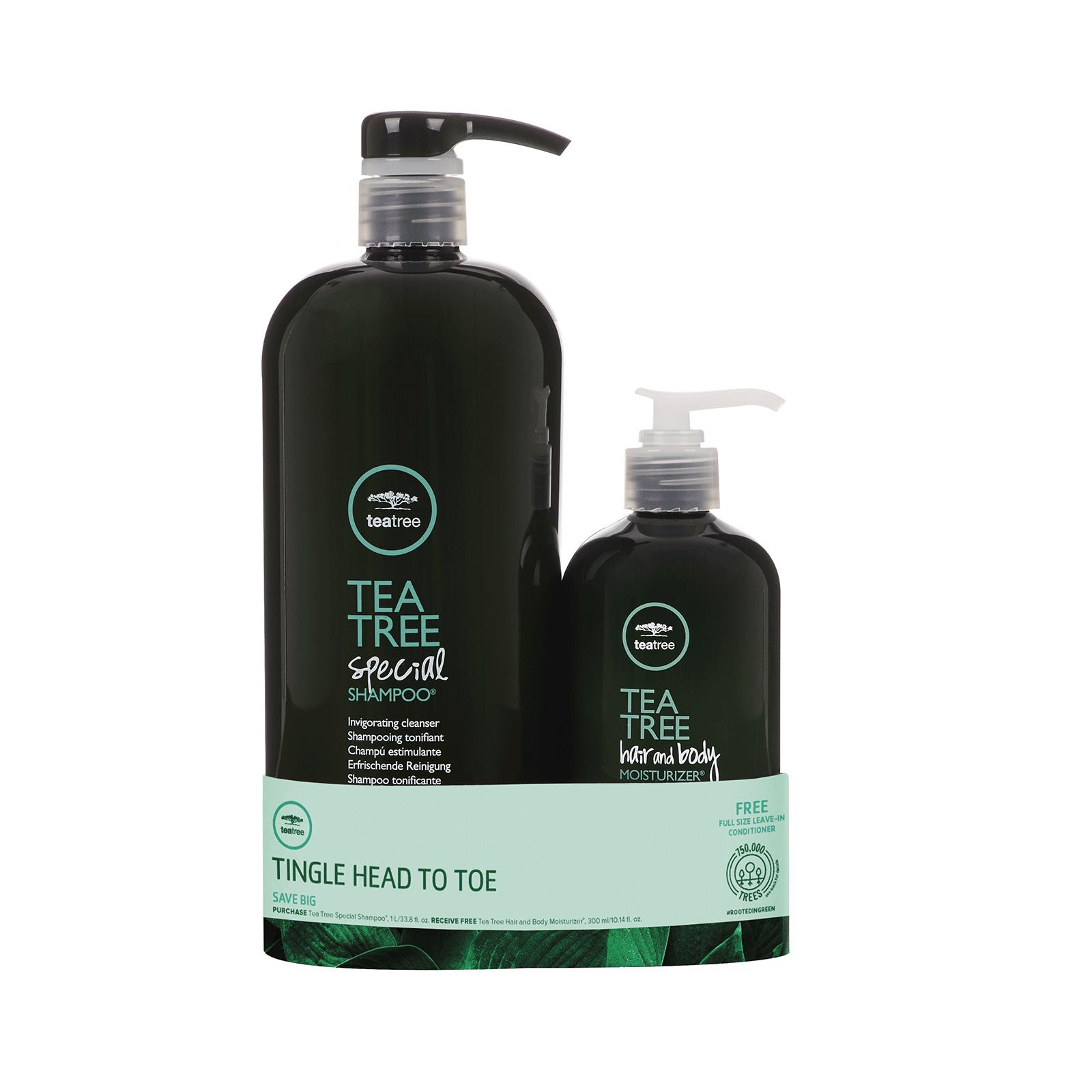 Paul Mitchell Tee Baum Spezial Shampoo 1000ml Haar Körper Feuchtigkeitslotion
