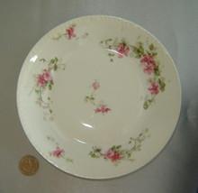 Chas Field Haviland Limoges (Gda France) White/Pink Floral Porcelain Coupe Bowl - $9.70