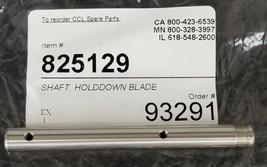 NEW CCL / GENERIC 825129 SHAFT HOLDDOWN BLADE image 1
