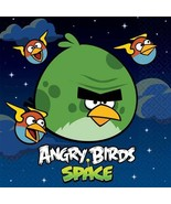 Angry Birds Space Lunch Napkins 16 Per Package Birthday Party Supplies NEW - $2.92