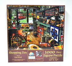 Shopping Day Jigsaw Puzzle 1000 Piece - $20.66