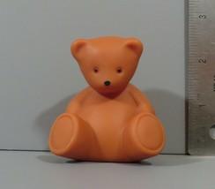 "Little Tikes Dollhouse Size Nursery Baby 2.5"" Teddy Bear Brown Figure Vi... - $11.95"