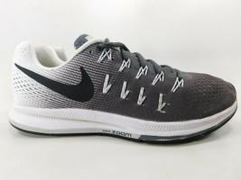 Nike Air Zoom Pegasus 33 Size 9.5 M (B) EU 41 Women's Running Shoes Gray 831356