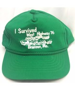 Vintage Branson Missouri Trucker Hat Cap Funny Survived West Highway 76 ... - $16.79