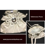 Vallemosso Patent Leather Purse Off White - $14.99