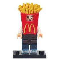 Mcdonald French Fries Boy City Series Lego Minifigures Block Gift For Kids - $1.99
