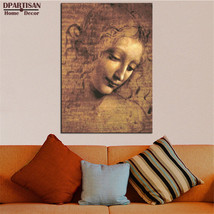 "Leonardo Da Vinci ""LA SCAPIGLIATA"" HD print on canvas huge wall picture ... - $29.69"