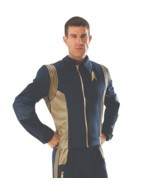 Rubies de Luxe Star Trek Discovery Command Veste Adulte Déguisement Hall... - £92.66 GBP+