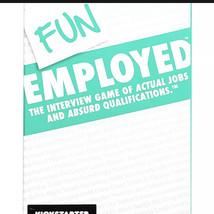 Funemployed Card Game Fun Employed - $14.21